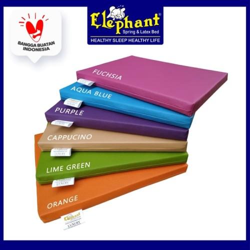 Foto Produk Alas Duduk Kulit Serba Guna - Merah dari Elephant Springbed