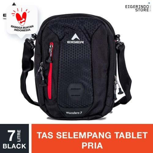 Foto Produk Eiger Wanders 1.0 Tablet Shoulder Bag 7L - Black dari Eigerindo Store