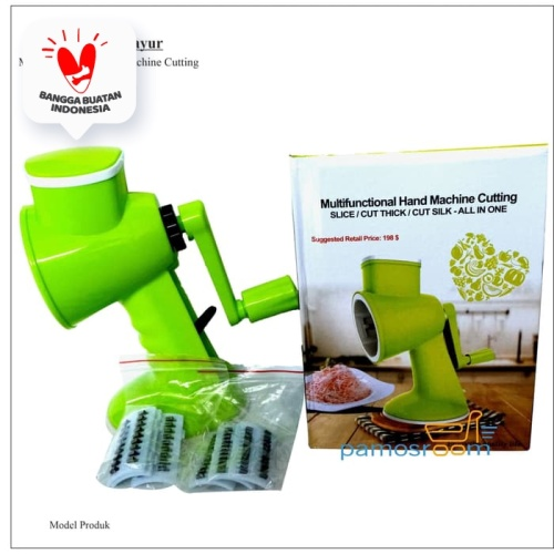 Foto Produk Pamosroom Alat Pemotong Sayur Serbaguna Hand Machine Cutting Manual dari Pamosroom Living