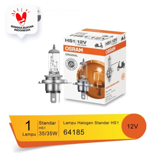 Foto Produk Osram Lampu Motor Headlamp HS1 - 64185 - Cocok u/ Motor Vixion, Byson dari Osram Automotive