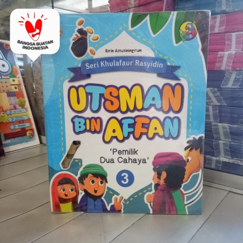 Foto Produk Buku cerita anak Seri Khulafaur Rasyidin Utsman Bin Afan, Sahabat Nabi dari ALIDA