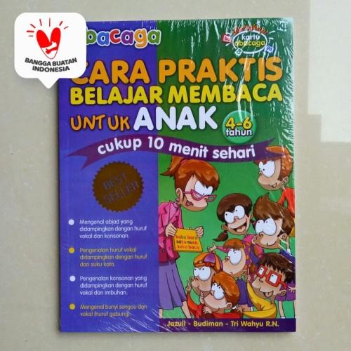Foto Produk Buku Anak TK SD Kelas 1 - buku ABACAGA Cara Praktis Belajar Membaca dari ALIDA