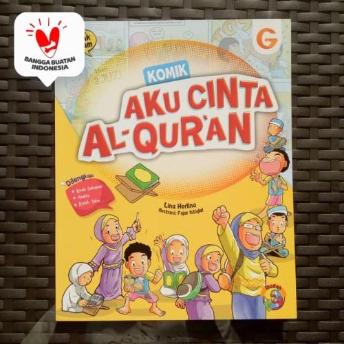 Foto Produk Komik Anak Islam - Komik Aku Cinta Al-Quran, Buku cerita anak dari ALIDA