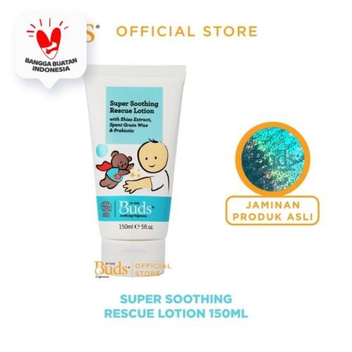 Foto Produk Buds Soothing Organics - Super Soothing Rescue Lotion 150 ml dari Buds Organics Indonesia