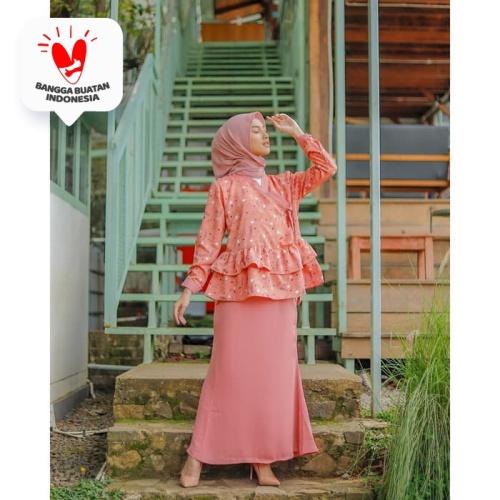 Foto Produk Baju Wanita Youra Set Mermaid Tea Rose - L dari DRESSSOFIA
