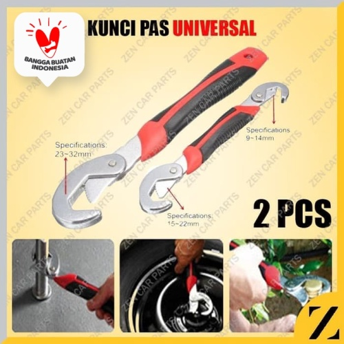 Foto Produk snap n grip Kunci Pas wrench kunci inggris E044 dari Zen Car Parts