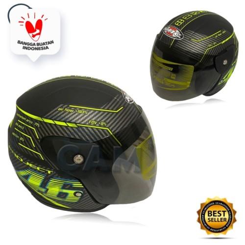 Foto Produk Helm EVO 46 black doff rossi bukan gm bxp Sudah SNI dari Boss helm