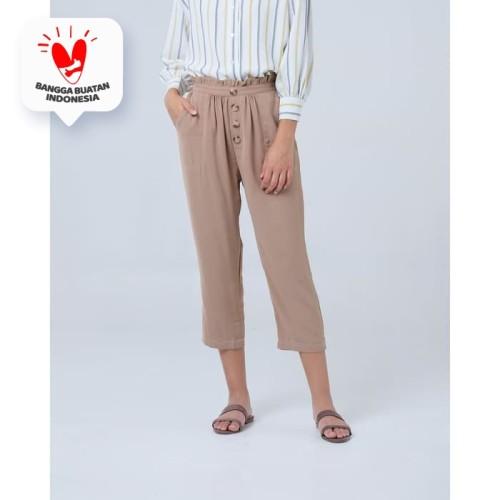 Foto Produk THIS IS APRIL - Lexie Leg Pants - Choco 273201 dari This Is April