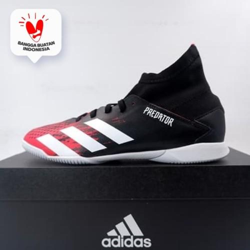 Foto Produk Sepatu Futsal Anak Adidas Predator 20.3 IN JR Core Black EF1954 Ori - 35 1/3 dari KING OF DRIBBLE