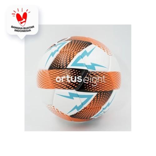 Foto Produk Bola Futsal Ortuseight Lightning FS Ball White Ortrange 31020005 Ori - 4 dari KING OF DRIBBLE