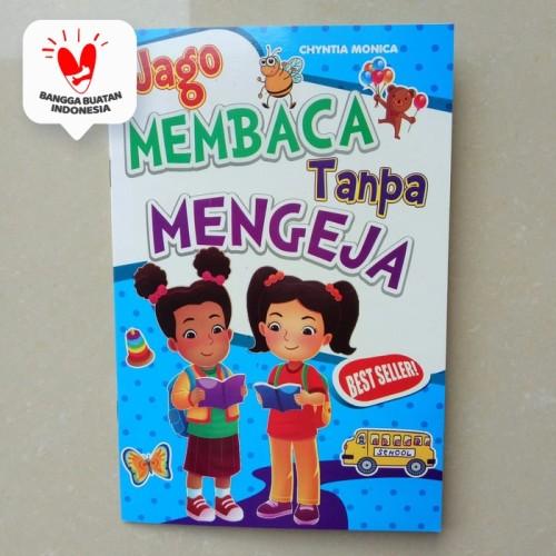 Foto Produk Buku Anak TK PAUD - Jago Membaca Tanpa Mengeja, belajar membaca dari ALIDA