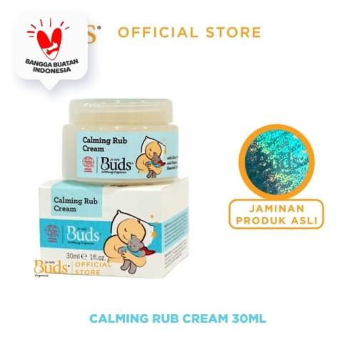 Foto Produk Buds Soothing Organics - Calming Rub Cream - Satuan dari Buds Organics Indonesia