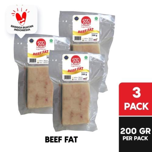 Foto Produk KIBIF Beef Fat @ 200 Gr Multipack dari KIBIF Official Store