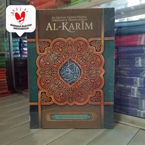 Foto Produk Alquran Tajwid Al-Karim A4, Al Quran Alkarim Terjemah dan Latin dari ALIDA