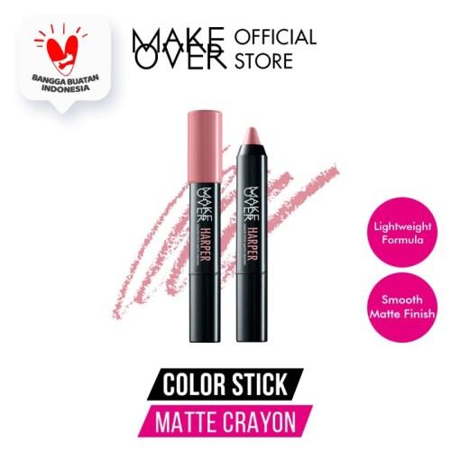 Foto Produk MAKE OVER Color Stick Matte Crayon - 103 Harper dari Make Over Official Shop