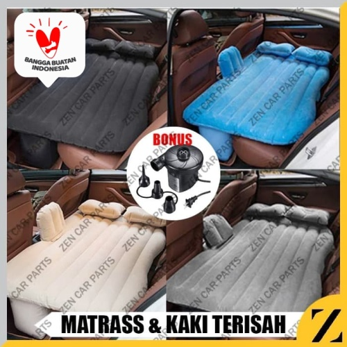 Foto Produk Aero Bed Car Air Bed Kasur Angin Mobil Abu-Abu - Abu-abu dari Zen Car Parts