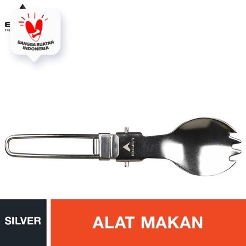 Foto Produk Eiger Stainless Steel Spork - Silver dari Eigerindo Store