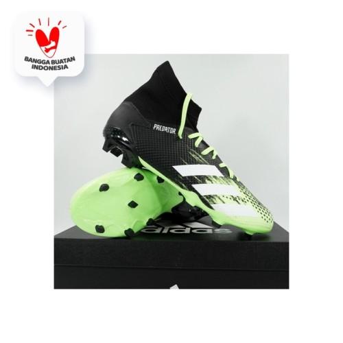 Foto Produk Sepatu Bola Adidas Predator 20.3 FG Signal Green EH2926 Original BNIB - 42 dari KING OF DRIBBLE