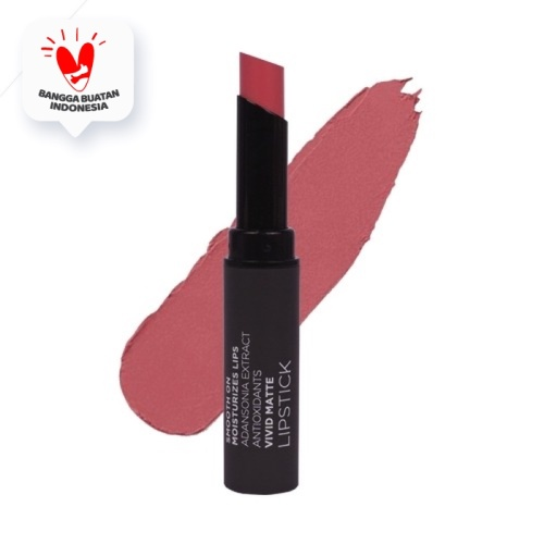 Foto Produk Mineral Botanica Vivid Matte Lipstick - Bluebell dari Mineral Botanica ID