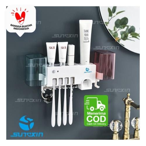 Foto Produk UV Dispenser Tempat Sikat Gigi Sterilization / Tempat Alat Mandi dari SUNXIN