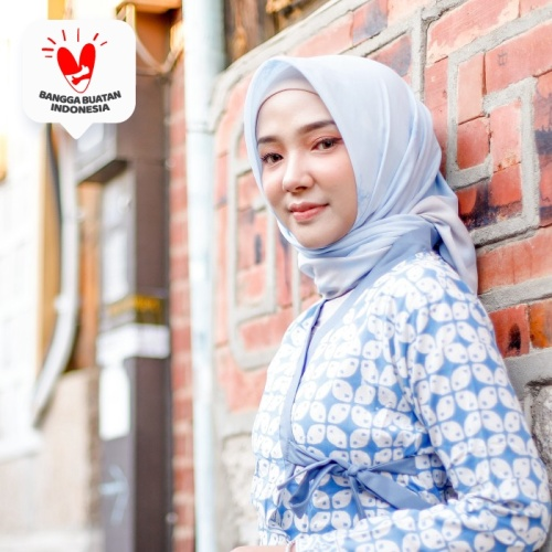 Foto Produk Bukchon Hanbok Maxidress - Serenity Blue dari DRESSSOFIA