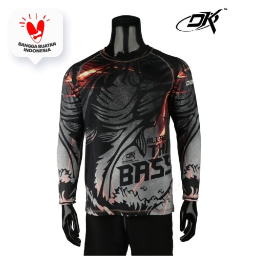 Foto Produk Duraking Jersey Longsleeve All About That Bass - Hitam, XXL dari Duraking Outdoor&Sports