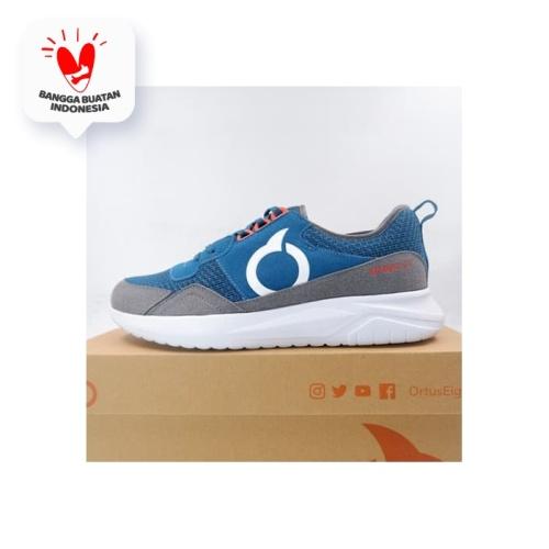 Foto Produk Sepatu Lari/Running Ortuseight Cobra Navy Grey 11030086 Original BNIB dari KING OF DRIBBLE
