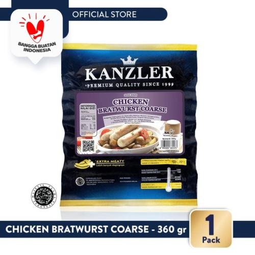 Foto Produk 1 Pack - Kanzler Chicken Bratwurst Coarse 360gr dari Kanzler Official Store