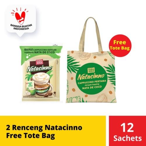 Foto Produk 2 Renceng Natacinno Free Tote Bag dari Mayora Official Store