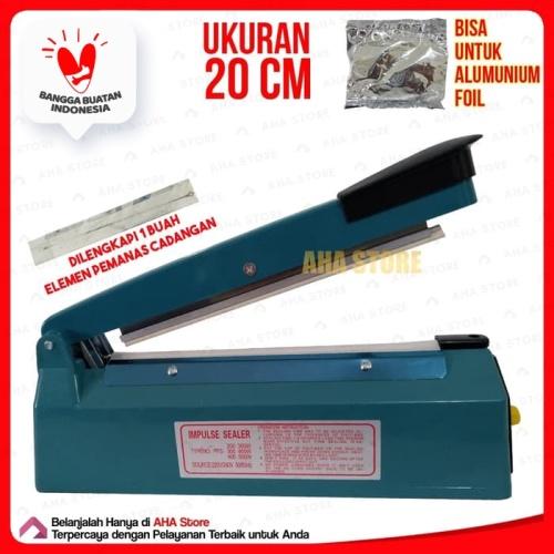 Foto Produk Q2 Impulse sealer PFS- 200 Alat pres plastik dari AHA Store Official