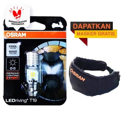 Foto Produk Osram Lampu Utama Motor LED T19 H6 M5 K1 Putih - 7735CW - 1 Pcs dari Osram Automotive