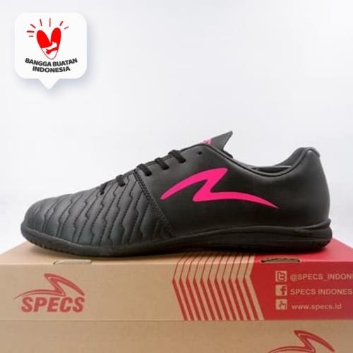 Foto Produk Sepatu Futsal Specs Barricada Maestro Pro IN Black Pink 401330 Ori - 43 dari KING OF DRIBBLE