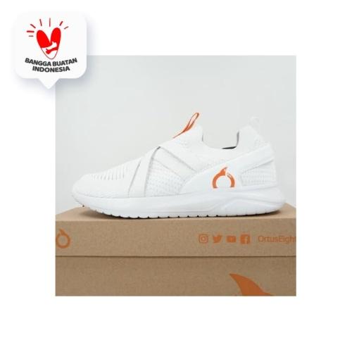 Foto Produk Sepatu Lari/Running Ortuseight Swift White Ortrange 11030105 Original dari KING OF DRIBBLE