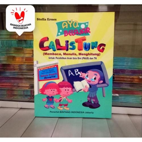 Foto Produk Buku Anak PAUD dan TK CALISTUNG, belajar Membaca, Menulis, Menghitung dari ALIDA