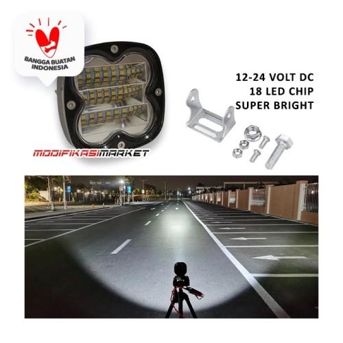 Foto Produk WORKLIGHT 40W WORK LIGHT 40 WATT 18 TITIK CREE CWL 12-24V HIGH QUALITY dari Modifikasi Market