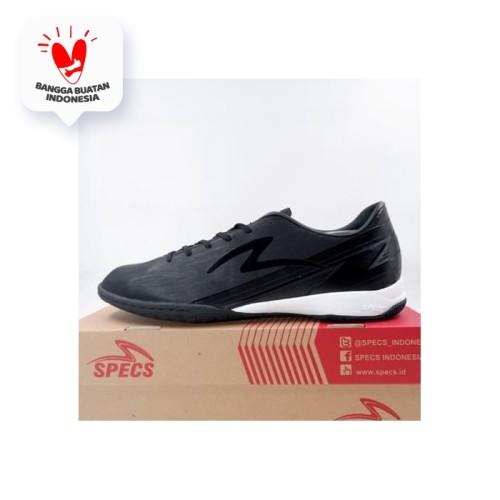 Foto Produk Sepatu Futsal Specs Acc Lightspeed 20 IN Triple Black 401416 Original - 43 dari KING OF DRIBBLE