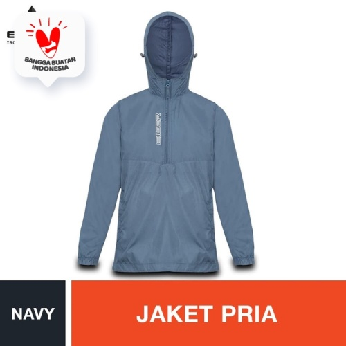 Foto Produk Eiger Shooter Windproof Jacket - Navy - Navy, XL dari Eigerindo Store