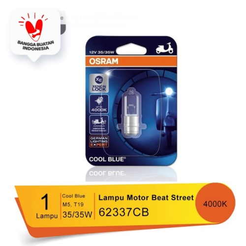Foto Produk Osram Lampu Depan Motor Honda Beat Street 2017-on - 62337CB -Cool Blue dari Osram Automotive