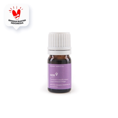 Foto Produk Organic Supply Co - Her Essential Oil - 5ml dari Organic Supply Co.