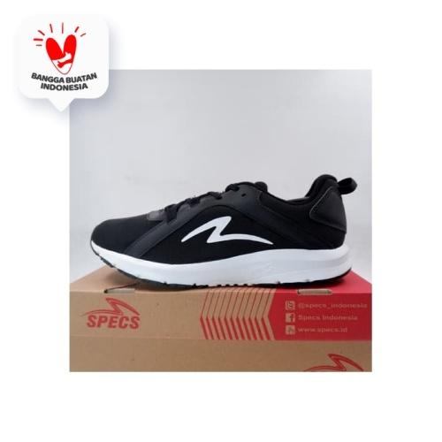Foto Produk Sepatu Running/Lari Specs Lightstreak Black White 200642 Original BNIB dari KING OF DRIBBLE