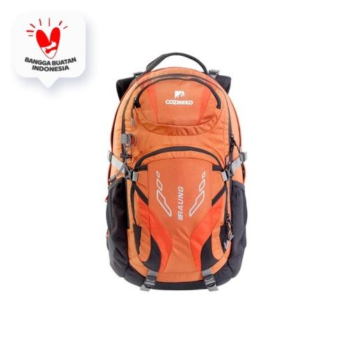 Foto Produk Tas Ransel Pria Daypack Cozmeed Raung - Orange dari Cozmeed Official Store