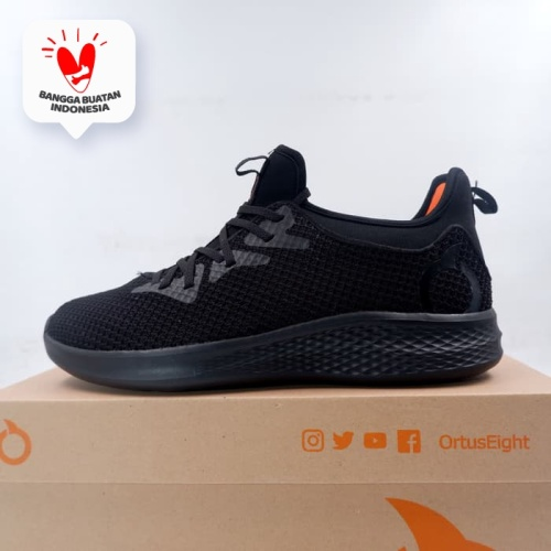 Foto Produk Sepatu Lari/Running Ortuseight Phyton All Black 11030077 Original BNIB dari KING OF DRIBBLE