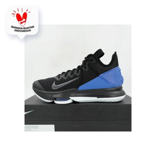 Foto Produk Sepatu Basket Nike Lebron Witness IV Black Clear Hyper BV7427-007 Ori dari KING OF DRIBBLE