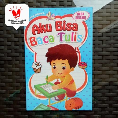 Foto Produk Buku Anak TK PAUD - Aku Bisa Baca Tulis, belajar membaca dan menulis dari ALIDA
