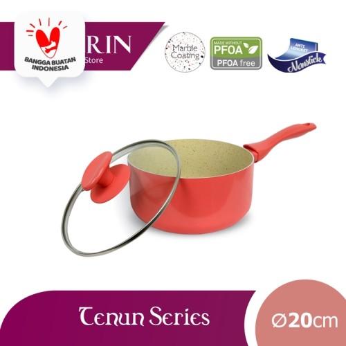 Foto Produk KIRIN SAUCEPAN | TENUN | 20 | TEFLON CLASSIC | 2.2MM - Merah Muda dari Kirin