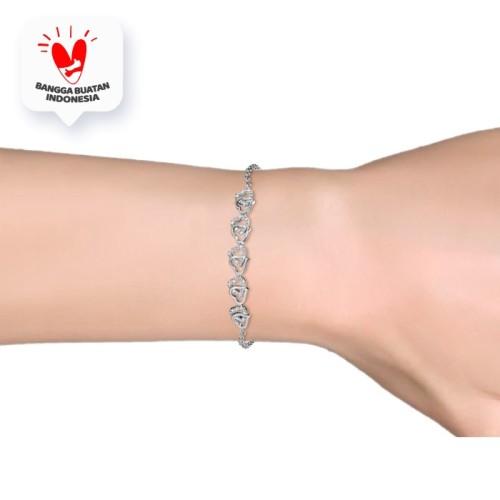 Foto Produk Sweet Love Bracelet - Gelang Crystal Swarovski by Her Jewellery dari Her Jewellery
