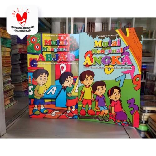 Foto Produk Buku Anak TK SD kelas 1, belajar Menulis Abjad, Huruf, Angka, Bilangan dari ALIDA