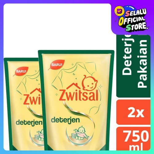 Foto Produk Zwitsal Baby Fabric Detergent 750Ml Twin Pack dari Unilever Official Store