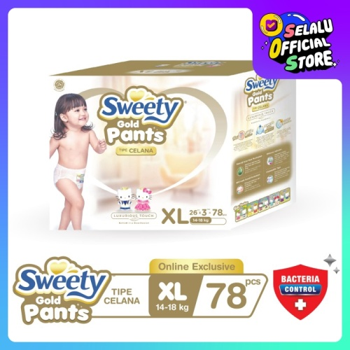 Foto Produk Sweety Gold Pants XL 3x26s dari Sweety Indonesia
