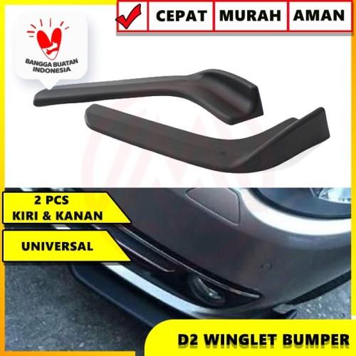 Foto Produk winglet diffuser universal lips bumper wide body d2 / winglet dari Modifikasi Market